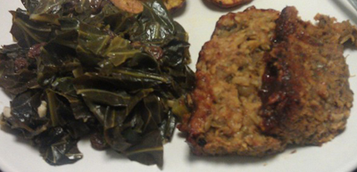 Meals for monday december 14 2015 for Creamy polenta with mushrooms and collards